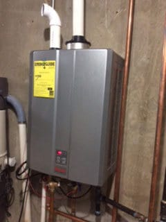 New Tankless Water Heater