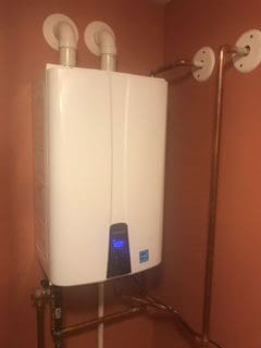 After New Tankless Install