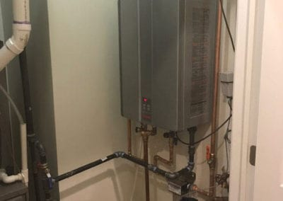 After High Efficiency Tankless