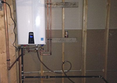 Tankless Water Heater - After