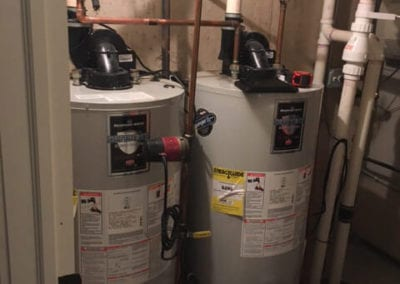 Water Heater Before Replacement