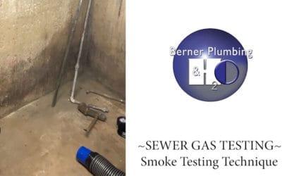 SEWER GAS TESTING – Smoke Testing Technique